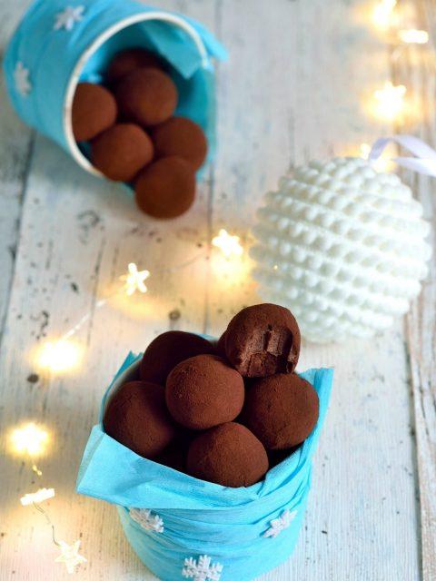 Шоколадные трюфеля