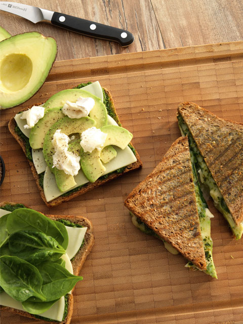 Сэндвичи с авокадо