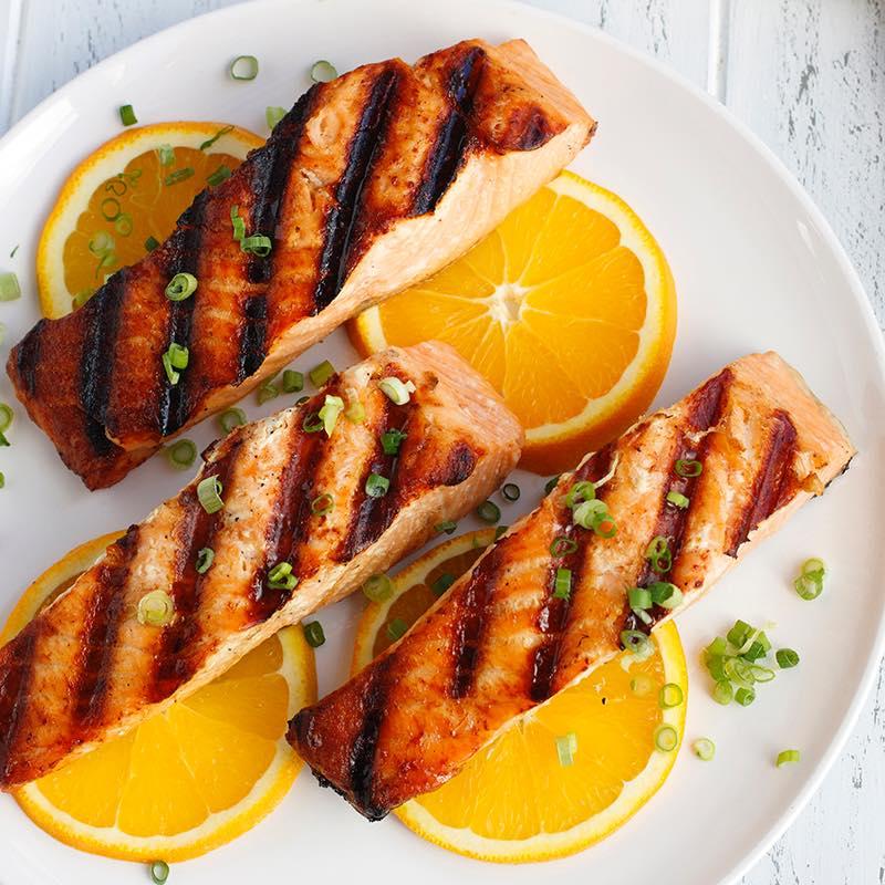 3 самых популярных рецепта приготовления лосося-гриль
