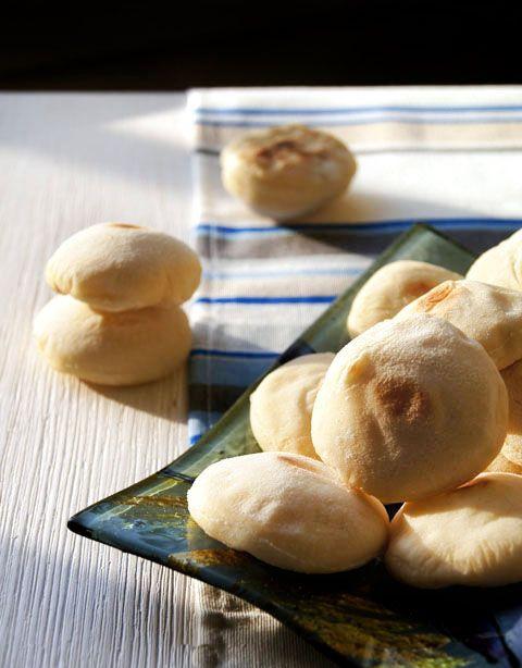 Постные батбуты (марокканские лепешки)