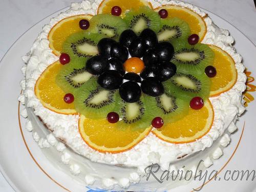 Как украсить торт заливными фруктами » ВКУСНЫЕ РЕЦЕПТЫ ...