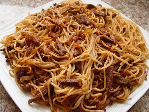 Спагетти с мясом » ВКУСНЫЕ РЕЦЕПТЫ 2017 С ФОТО