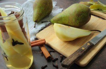 Birnenfrucht zur Gewichtsreduktion