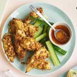 Pollo a la nuez satay
