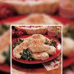 Pollo picante parmesano