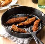 Tiras de pollo con chile