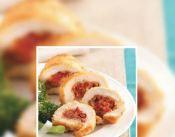 rollitos de pollo con tomate