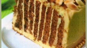 Deliciosa torta de chocolate y almendras