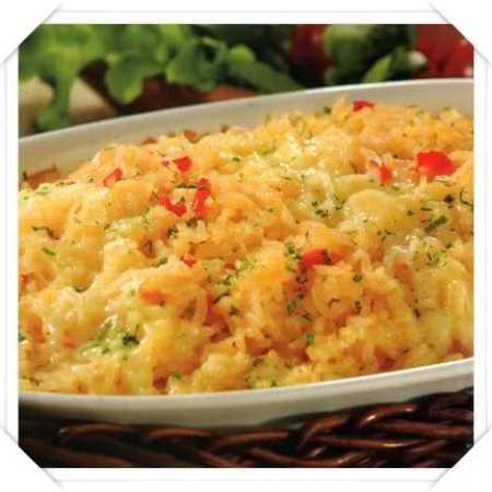 tortilla de arroz al horno
