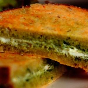 Sandwich de Pan Artesanal con Queso