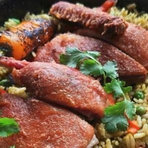 Arroz con pato, tradicional receta chiclayana