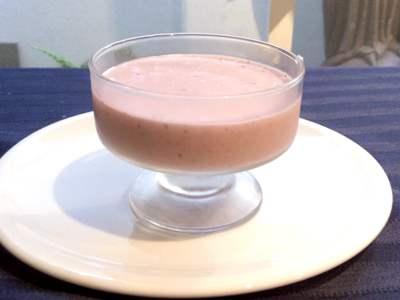 receta mouse de fresa guatemala mundochapin