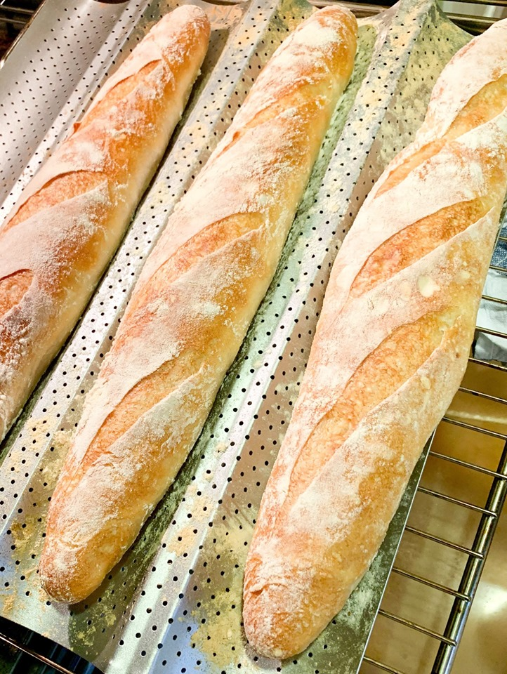 Pan baguette facilísimo
