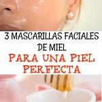 3 Mascarillas Faciales de Miel Para Una Piel Perfecta