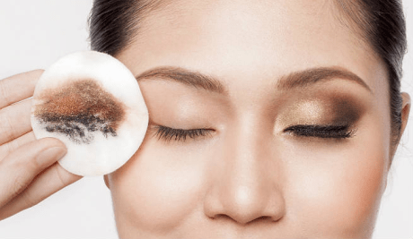 antes y despues removedor de maquillaje