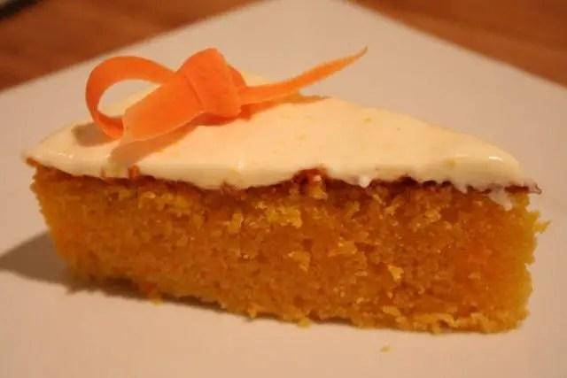 tarta zanahoria - Bizcocho de zanahoria