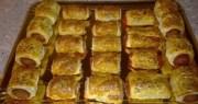 saladitos de atún - Aperitivos Navidad - Canapés de salchicha