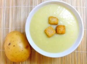 crema de puerro y patatas - Sopas con Thermomix