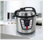 olla jrd - Potaje de garbanzos, acelgas y bacalao en olla eléctrica JRD