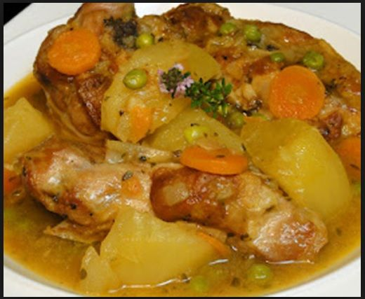 patatas guisadas con cordero olla jrd - Carne guisada en olla rápida con patatas