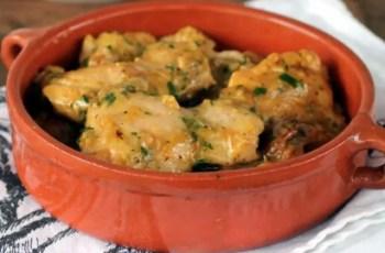 pollo al ajillo - Pollo al ajillo en Thermomix