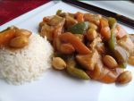 pollo con almendras - Sopa de pescado con bacalao al estilo de Portugal
