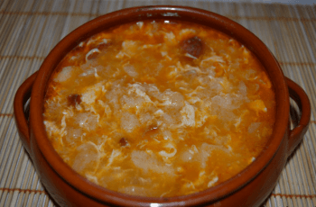 sopa de ajo castellana - Sopa de ajo castellana en Thermomix