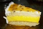 bizcocho mousse de maracuya - Pollo al limón con Thermomix