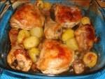 pollo asado con limón - Albóndigas en salsa con Thermomix