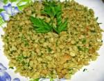 pan rallado aromático y húmedo - Esta ensalada de bacalao con garbanzos te va a encantar