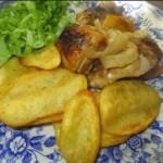 Pollo asado en el horno con Thermomix