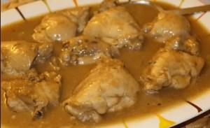 pollo con cerveza - Recetas tradicionales de carne