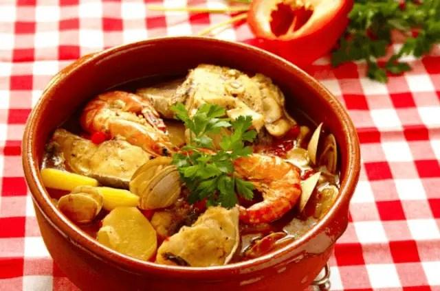 caldereta de pescado - Caldereta portuguesa de pescado
