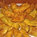 alcachofas rebozadas - Recetario (A-Z)