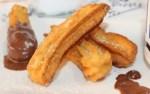 churros de patata - Paté de marisco con Thermomix