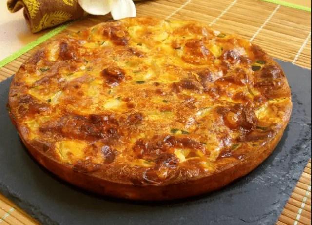 tarta de calabacin - Flan de clara de huevo con salsa de chocolate