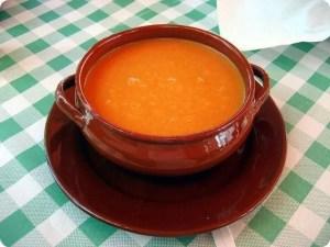 gazpacho - Vegetariano y dietas con Thermomix
