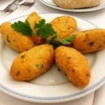 pasteles de bacalao - Pudin de pan casero húmedo