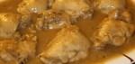 pechuga de pollo a la cerveza - Canapé de tortilla