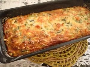tarta cremosa de espinacas y patatas - Vegetariano y dietas con Thermomix