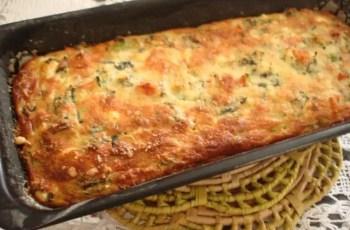 tarta cremosa de espinacas y patatas - Pastel de verduras con Thermomix
