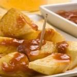 patatas bravas - Sopa de pollo con garbanzos