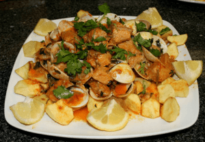 carne de cerdo con almejas - Recetas tradicionales de carne