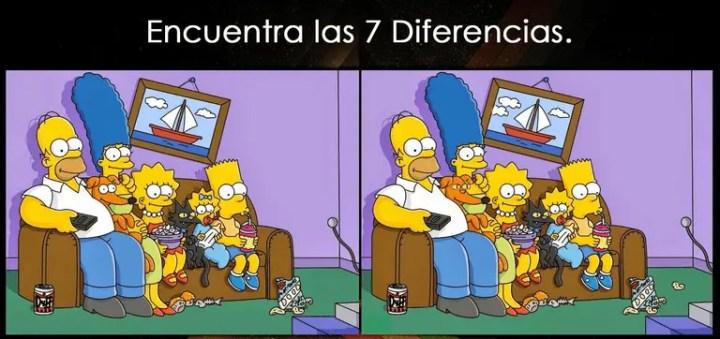 7 diferencias - Descubre las 7 diferencias
