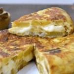 Tortilla de patatas con queso – recetas para niños