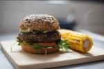 hamburguesa de quinoa - Flan de coco