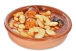 fabes con chorizo - Sopa de ajo castellana en Thermomix
