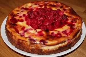 tarta de queso al horno - Recetas postres tradicionales