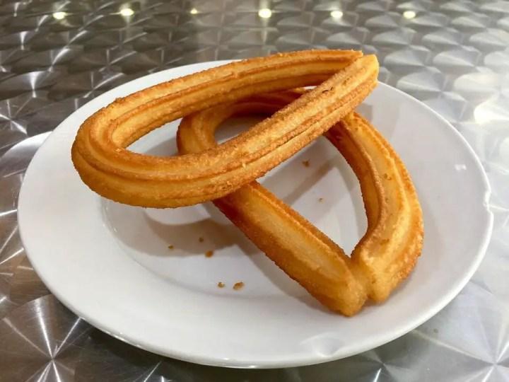 churros con canela de Madrid - Churros con canela al estilo de Madrid con Thermomix
