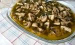 champiñones al ajillo - Calendario de temporada de pescado y marisco